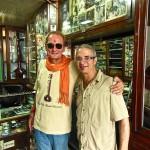 Con Max Flury en Rikhi Ram, Delhi