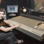 Con Pablo Hadida en estudio King, foto de Arturo Encinas