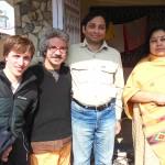 Con Pedro, Debashish y Krishna
